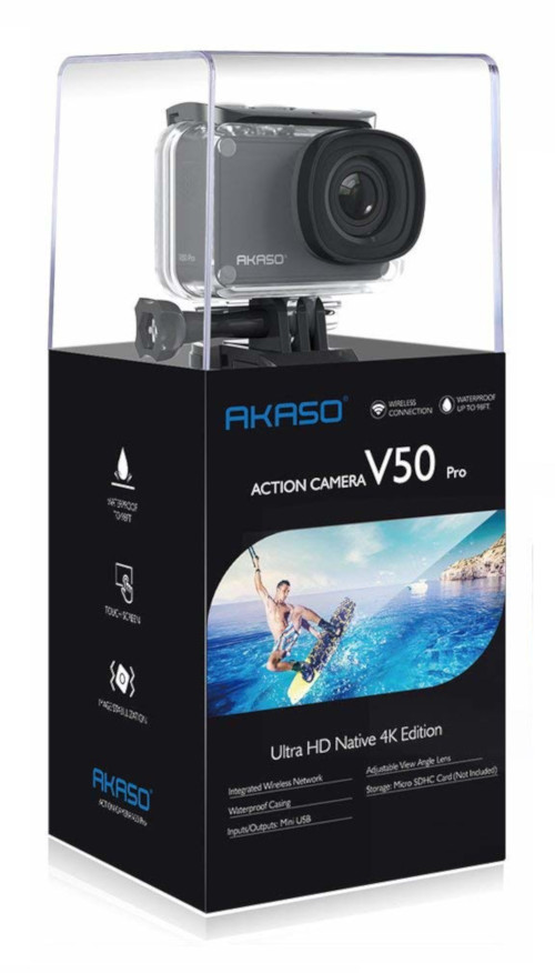 AKASO V50 Pro Waterproof Wifi Action Camera Review - Rustic Pursuits